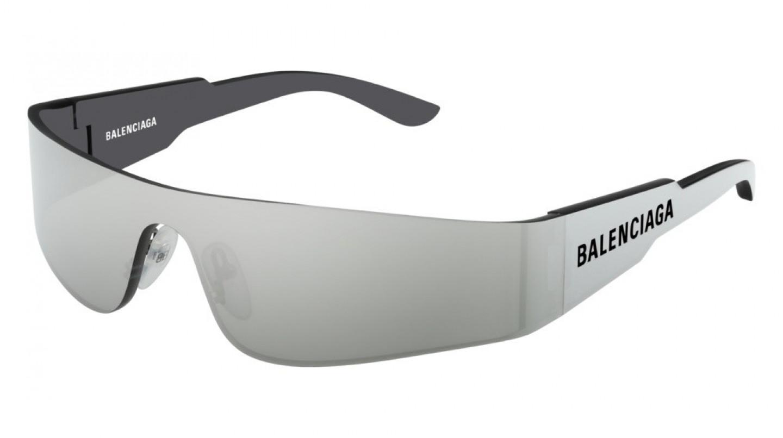 Balenciaga BB0041S 001 Okulary Przeciwsłoneczne Czarny