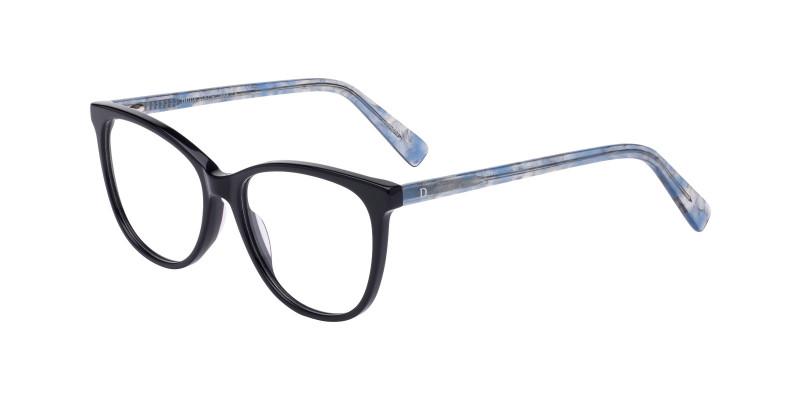 WD1131 C1 BLACK/BLUE TEMPLE