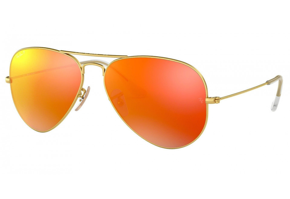 Ray-Ban RB3025 AVIATOR LARGE METAL 112/4D POLARIZED