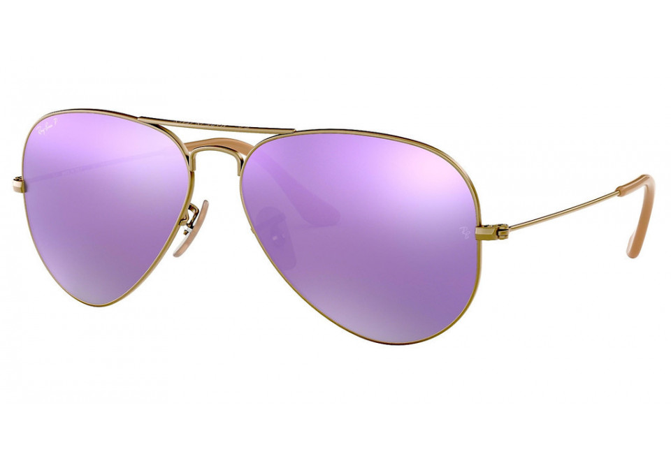 Ray-Ban RB3025 AVIATOR LARGE METAL 167/1R POLARIZED