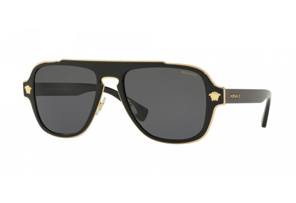 VERSACE VE2199 MEDUSA CHARM 100281 POLARIZED