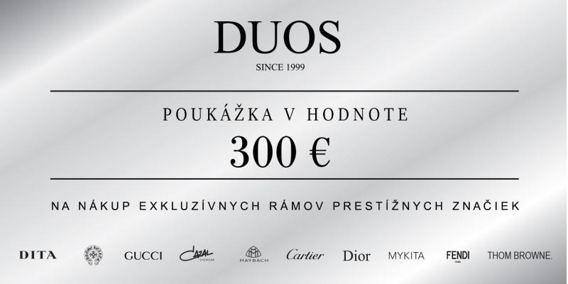 Bon podarunkowy 300€