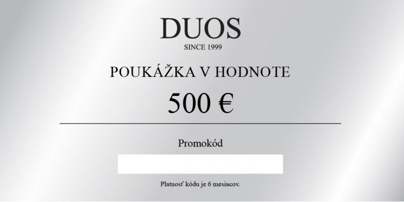 Cyfrowy kupon podarunkowy 500€