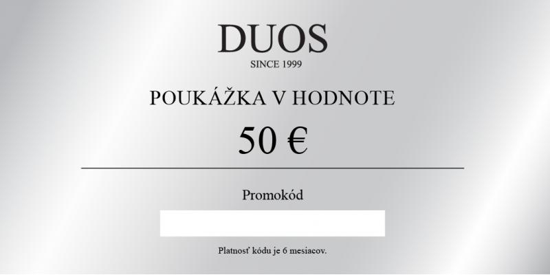 Cyfrowy kupon podarunkowy 50€
